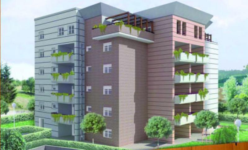 progettazione architettonica di edifici residenziali